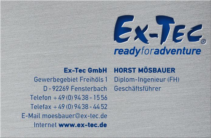 Ex Tec Gmbh Briefbogen Visitenkarte Artwork