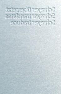 Schreyer Visitenkarte Rückseite