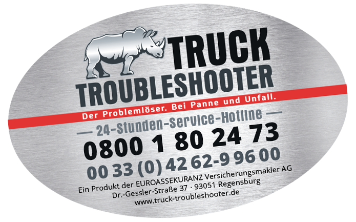 Truck Troubleshooter · Aufkleber