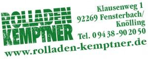 Rolladen Kemptner · Stempel