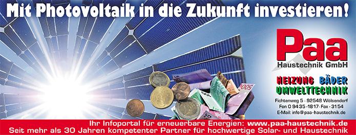Paa Haustechnik GmbH · Anzeige
